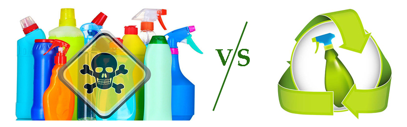 Difference between Normal Cleaning Chemicals and Eco-friendly Cleaning Chemicals